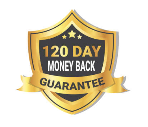 120-day money back guarantee with Vital Water Co. Hydrocell Pro™ Products and workmanship!