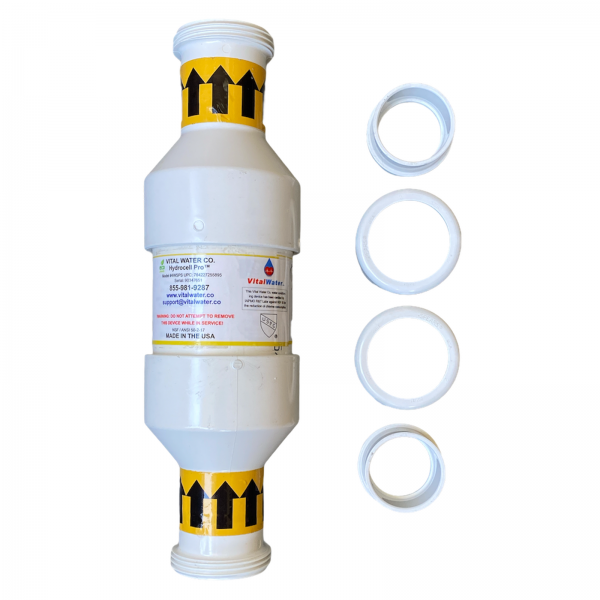 hydrocell pool sanitizer with couplings