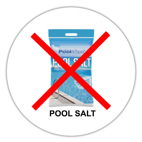 Don't harm the environment or yourself with Pool Salt Backwash!