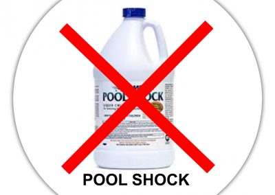 Don't Shock Your Skin with Pool Shock