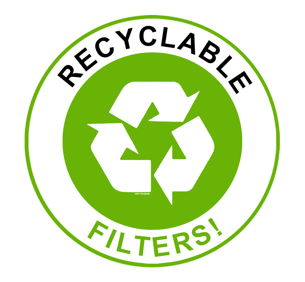 recyclable filters
