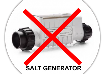 Salt Generators are costly and damage your skin and the environment
